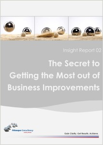 Secrets to getting the most out of Business Improvements