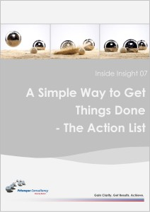 The Action List