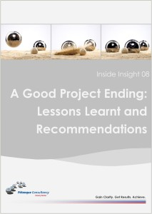 Lessons Learnt Template